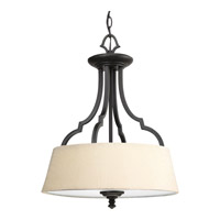 Progress Lighting Thomasville Meeting Street 3 Light Bath Vanity in Forged Black P2828-80