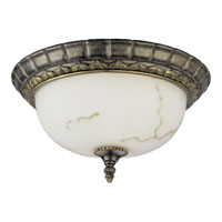 Progress Lighting Palmero 1 Light Close-to-Ceiling in Weathered Bronze P2831-46