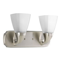 Progress Lighting Delta Addison 2 Light Bath Vanity in Brushed Nickel P2847-09