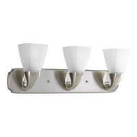 Progress Lighting Delta Addison 3 Light Bath Vanity in Brushed Nickel P2848-09
