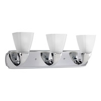 Progress Lighting Delta Addison 3 Light Bath Vanity in Polished Chrome P2848-15