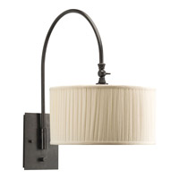 Clayton 1 Light 13 inch Espresso Wall Bracket Wall Light