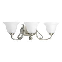 Progress Lighting Torino 3 Light Bath Vanity in Brushed Nickel P2883-09