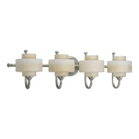 Ashbury 4 Light 31 inch Silver Ridge Bath Vanity Wall Light