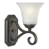 Melbourne 1 Light 6 inch Espresso Bath Vanity Wall Light
