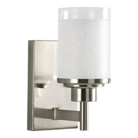Alexa 1 Light 5 inch Brushed Nickel Bath Vanity Wall Light