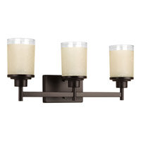 Progress Lighting Alexa 3 Light Bath Light in Antique Bronze P2978-20
