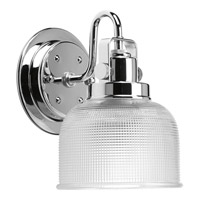 Archie 1 Light 6 inch Chrome Bath Vanity Wall Light