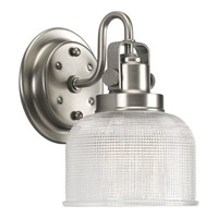 Progress Lighting Archie 1 Light Bath Vanity in Antique Nickel P2989-81