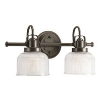 Progress Lighting Archie 2 Light Bath Vanity in Venetian Bronze P2991-74