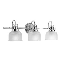 Archie 3 Light 26 inch Chrome Bath Vanity Wall Light