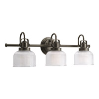 Progress Lighting Archie 3 Light Bath Vanity in Venetian Bronze P2992-74