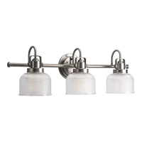 Progress Lighting Archie 3 Light Bath Vanity in Antique Nickel P2992-81