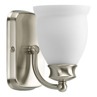 Progress Lighting Delta Leeland 1 Light Bath Vanity in Brushed Nickel P2993-09