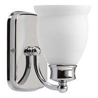 Progress Lighting Delta Leeland 1 Light Bath Vanity in Polished Chrome P2993-15