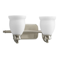 Progress Lighting Delta Leeland 2 Light Bath Vanity in Brushed Nickel P2994-09