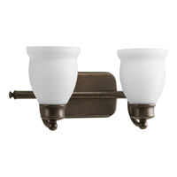 Progress Lighting Delta Leeland 2 Light Bath Vanity in Venetian Bronze P2994-74