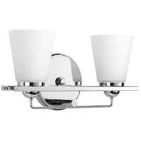 Flight 2 Light 16 inch Polished Chrome Bath Vanity Wall Light