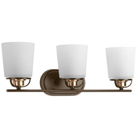 West Village 3 Light 23 inch Antique Bronze Bath Vanity Wall Light, Design Series