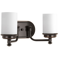 Glide 2 Light 16 inch Rubbed Bronze Bath Vanity Wall Light