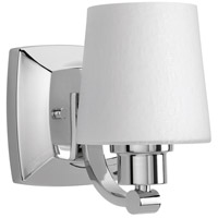 Glance 1 Light 5 inch Polished Chrome Bath Vanity Wall Light, Design Series