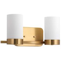 Elevate 2 Light 15 inch Brushed Bronze Bath Vanity Wall Light, Design Series