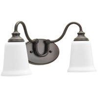 Wander 2 Light 16 inch Venetian Bronze Bath Vanity Wall Light