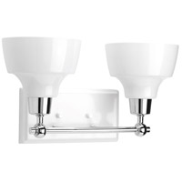 Bramlett 2 Light 15 inch Polished Chrome Bathroom Vanity Wall Light