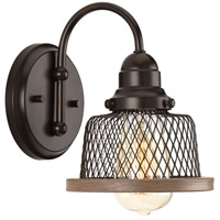 Tilley 1 Light 6 inch Antique Bronze Bathroom Vanity Wall Light