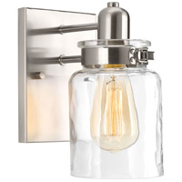 Calhoun 1 Light 5 inch Brushed Nickel Bathroom Vanity Wall Light