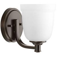 Progress P300057-020 Topsail 1 Light 5 inch Antique Bronze Bathroom Vanity Wall Light