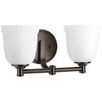 Progress P300058-020 Topsail 2 Light 14 inch Antique Bronze Bathroom Vanity Wall Light