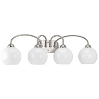 Carisa 4 Light 33 inch Brushed Nickel Bath Vanity Wall Light