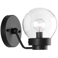 Spatial 1 Light 5 inch Black Bath Vanity Wall Light, Design Series