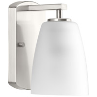 Leap 1 Light 5 inch Brushed Nickel Bath Vanity Wall Light