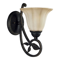 Progress Lighting Le Jardin 1 Light Wall Bracket in Espresso P3012-84