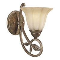 Progress Lighting Le Jardin 1 Light Wall Bracket in Biscay Crackle P3012-91C