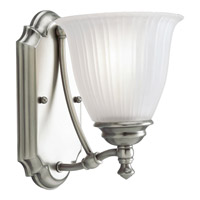 Progress Lighting Renovations 1 Light Bath Vanity in Antique Nickel P3016-81