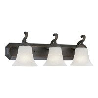 Melbourne 3 Light 24 inch Espresso Bath Vanity Wall Light