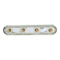 Progress Lighting Broadway 4 Light Bath Vanity in Polished Chrome P3025-15 photo thumbnail