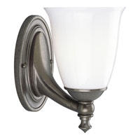 Progress Lighting Delta Victorian 1 Light Bath Vanity in Aged Pewter P3027-03