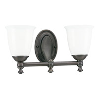 Progress P3028-74 Victorian 2 Light 17 inch Venetian Bronze Bath Vanity Wall Light