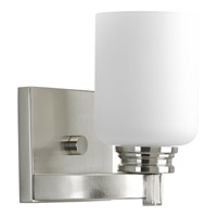 Progress P3030-09 Orbitz 1 Light 6 inch Brushed Nickel Bath Vanity Wall Light