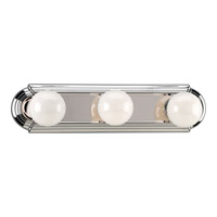 Progress Lighting Broadway 3 Light Bath Vanity in Polished Chrome P3038-15