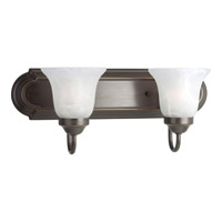 Progress Lighting Builder Bath 2 Light Bath Vanity in Antique Bronze P3052-20