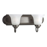 Progress Lighting Builder Bath 2 Light Bath Vanity in Antique Bronze P3052-20EBWB