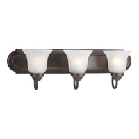 Progress Lighting Builder Bath 3 Light Bath Vanity in Antique Bronze P3053-20
