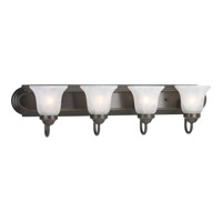 Progress Lighting Builder Bath 4 Light Bath Vanity in Antique Bronze P3054-20EBWB