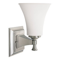 Progress Lighting Fairfield 1 Light Bath Vanity in Brushed Nickel P3131-09