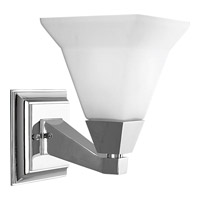 Progress Lighting Delta Glenmont 1 Light Bath Vanity in Polished Chrome P3135-15
